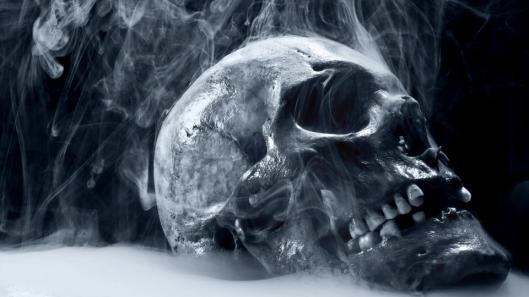 smokin skull