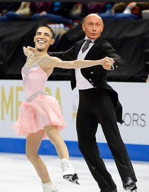 Putin för dansen