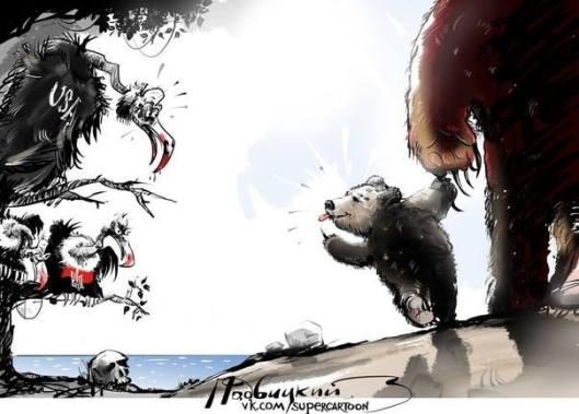 Ukrainabjörnen.