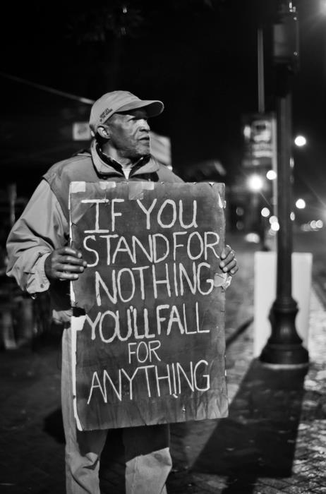 Stå för dina tankar