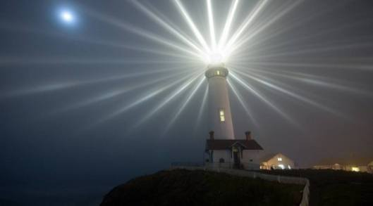 vara ljuset